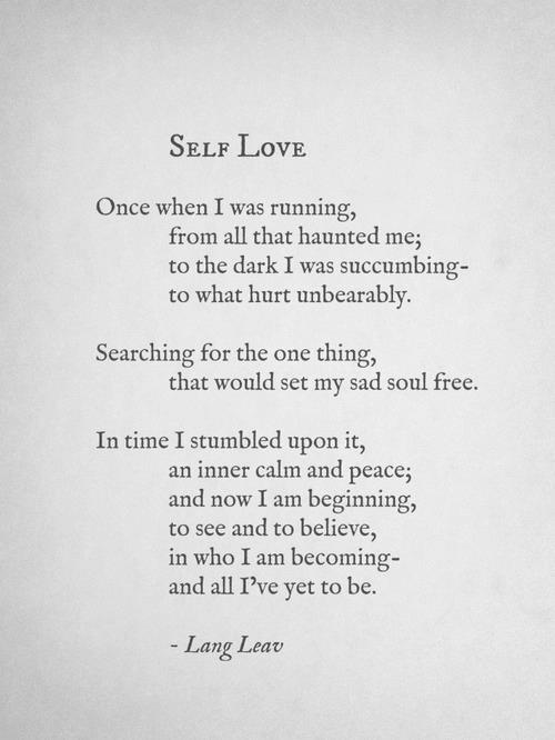 Self Love 1