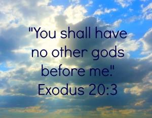 NO OTHER GOD 1