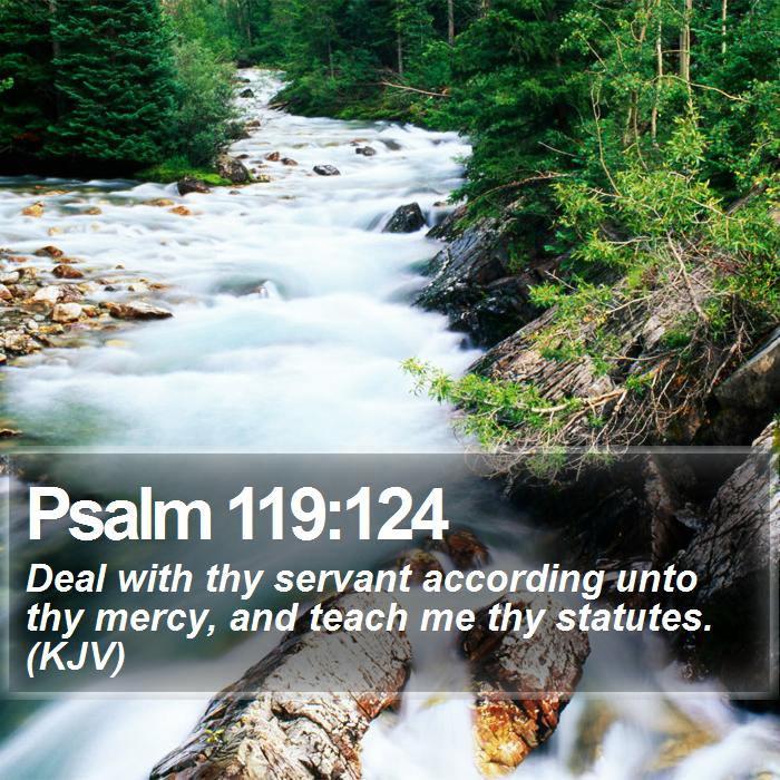 Psalm 119vs124